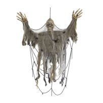 Marque Generique - Grand squelette toile d'araignée à suspendre