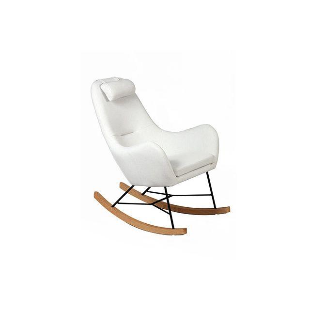 Rocking chair beige - Anselme