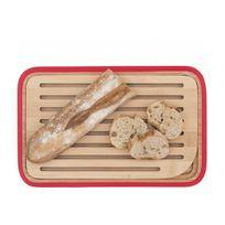 PEBBLY - PLANCHE à pain Rouge 28X18 ramass