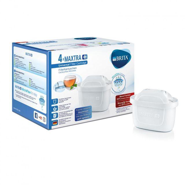BRITA Pack de 4 cartouches filtrantes Maxtra 1023124