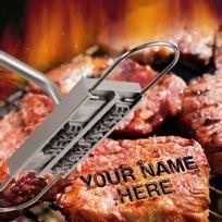 Totalcadeau - Fer pour marquer vos grillades au barbecue