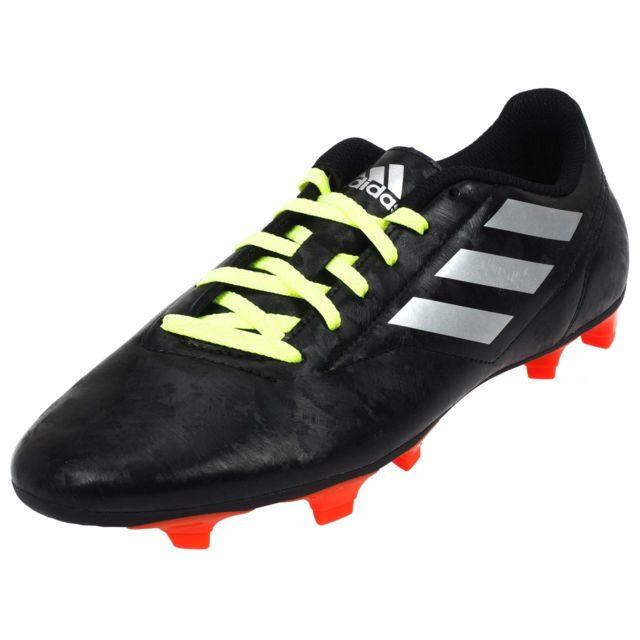 san francisco e37bc bc3a6 Adidas - Chaussures football lamelles Conquisto fg noir Noir 32823