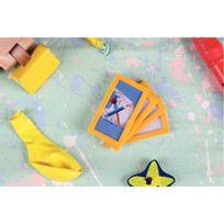 Tarifold - cadres d'affichage magnétique 80x45 jaune - sachet de 4