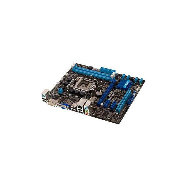 Asus - P8H61-M Le - 2.0 - carte-mère - micro Atx - Lga1155 Socket - H61 - Gigabit Lan - carte graphique embarquée unité centrale requise audio Hd 8 canaux