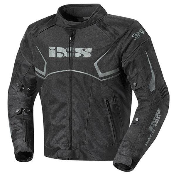 blouson moto Activo textile homme toutes saisons étanche noir Promo L