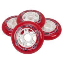 Hyper - Roues de roller Xtr 90 mm rouge pack 4 Rouge 12765