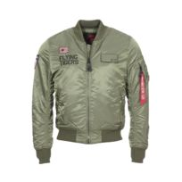 Alpha Industrie - Bombers Alpha Industries Ma-1 Vf Flying Tigers vert olive
