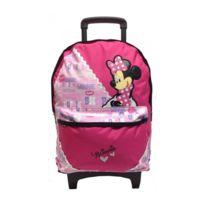 Minnie Et Ses Amies - Sac à roulettes Minnie 44 Cm Rose Pois Trolley Haut de gamme