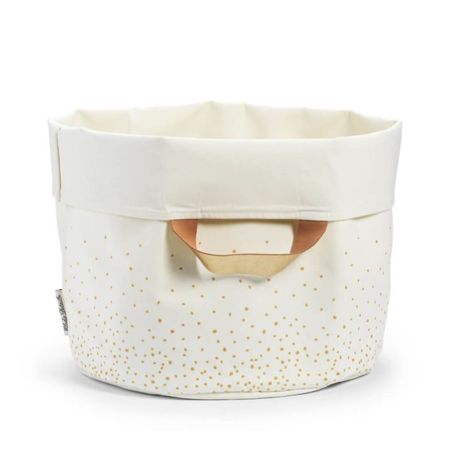 Elodie Details - Panier de rangement Gold Shimmer - pas cher Achat   Vente  Panier de course - RueDuCommerce 7b4418f62af