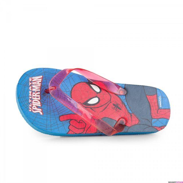 Marvel - Tongs Spiderman bleu et rouge garçon 28 29 - pas cher Achat   Vente  Sandales et tongs enfant - RueDuCommerce 593d0027640c