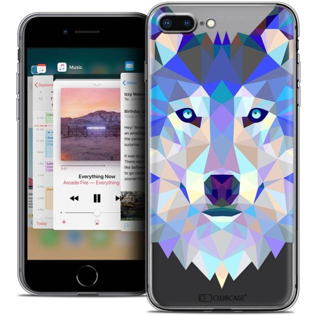 coque loup iphone 7 plus