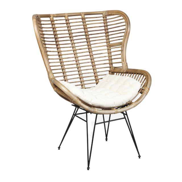 marque generique fauteuil en rotin suzanna naturel pas cher achat vente fauteuils. Black Bedroom Furniture Sets. Home Design Ideas