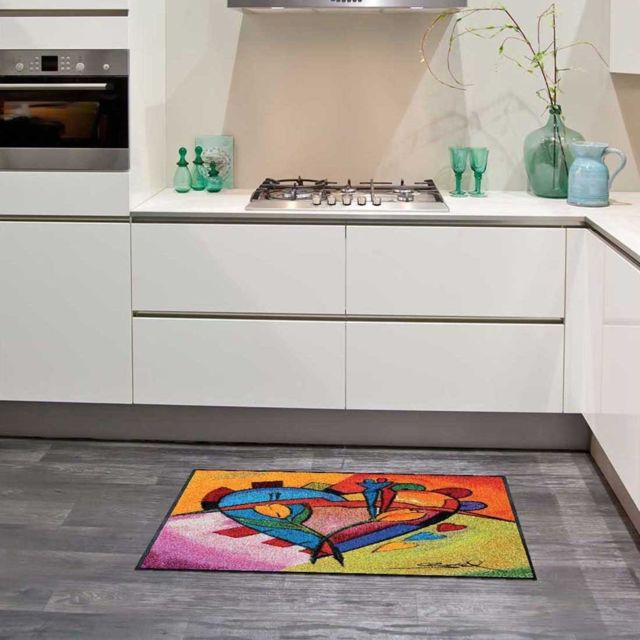 UN AMOUR DE TAPIS - Tapis Cuisine ABSTRACT KITCHEN KT Multicolore ...
