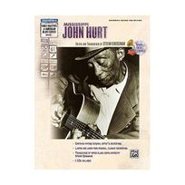 Alfred Pakketbrievenbussen - Mississippi John Hurt GTAB/2CDs Guitare Tab - Grossman, Stefan editor Alfred Publishing