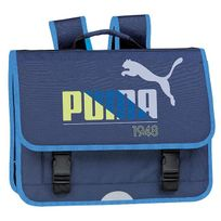 Puma - Cartable scolaire 3 compartiments 1948 41cm bleu