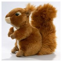 Carl Dick - Peluche écureuil 19cm Jouet