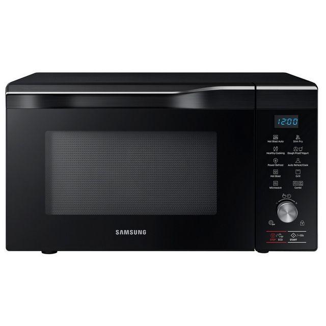 Samsung four à micro-ondes grill et chaleur tournante 32l 2100w noir - mc32k7055ck