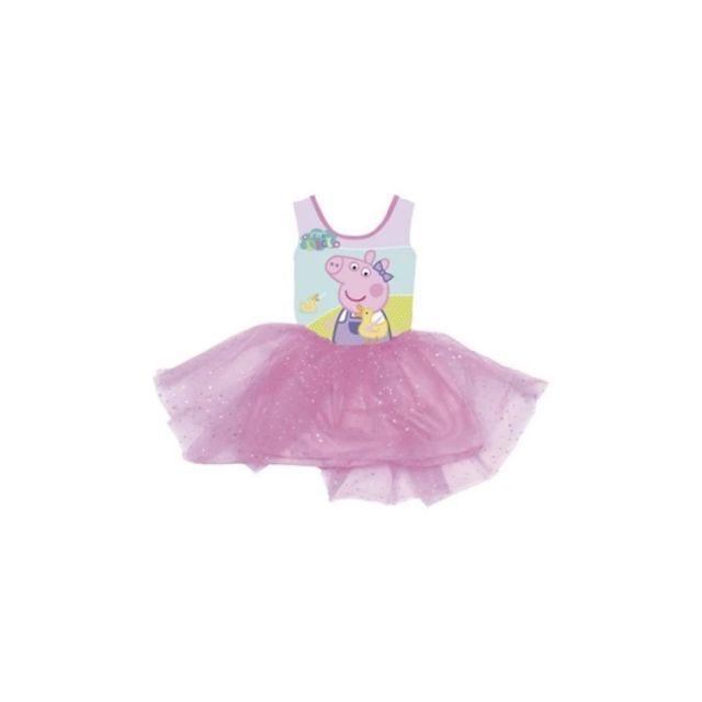 Peppa Pig Tenue de Danse Ballet Pour Enfants de 2, 4 et 6 ans