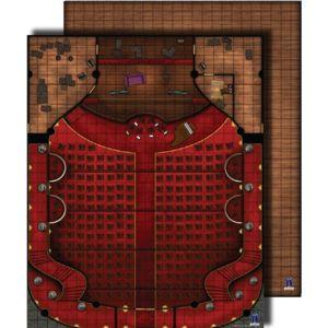 Paizo - Jeux de rôle - Flip Mat : Theater