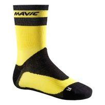 Mavic - Chaussettes Ksyrium Pro Thermo+ noir jaune