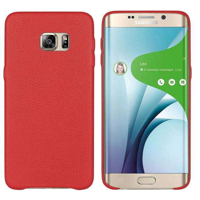 coque galaxy s6 edge plus cuir