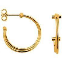 Altesse - Boucles d'oreilles 70272740100 - Boucles d'oreilles Vis Plaqué Or Femme