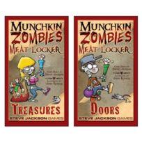 Steve Jackson Games - Jeu De 500 Cartes - Boxes Zombies Meat Lockers