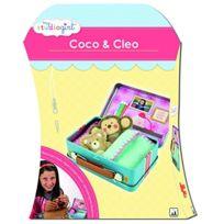 University Games - 82235 - Kit De Loisirs CrÉATIFS - Travel Buddies - Coco & Cleo
