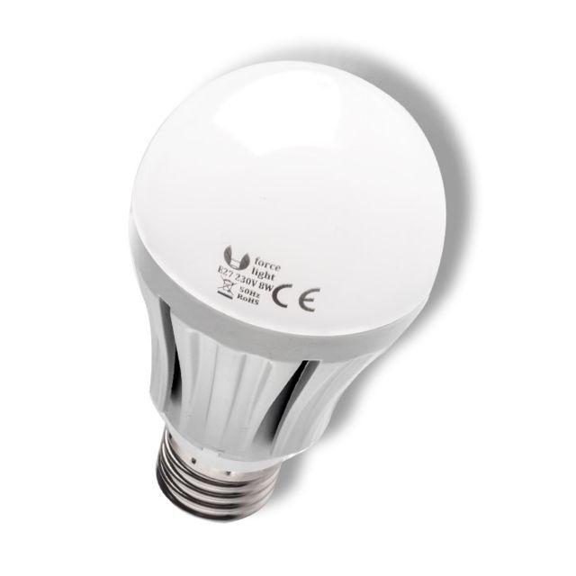 forcelight ampoule led 8w blanc chaud destockage pas cher achat vente ampoules led. Black Bedroom Furniture Sets. Home Design Ideas