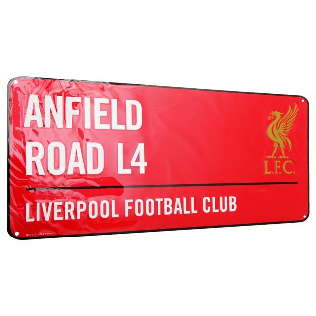 Taille unique Blanc//Noir//Rouge Liverpool FC Panneau officiel