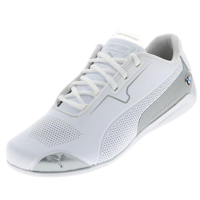 Puma Chaussures mode ville Bmw mms drift cat 8 blc Blanc