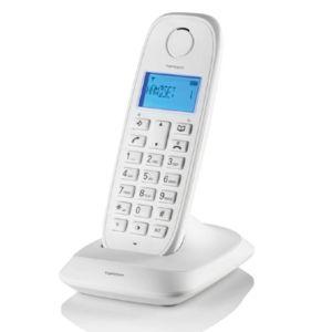TOPCOM - téléphone sans fil dect blanc - te-5731