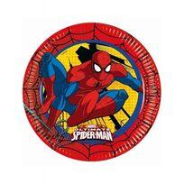 Ciao - Assiettes Spiderman x8