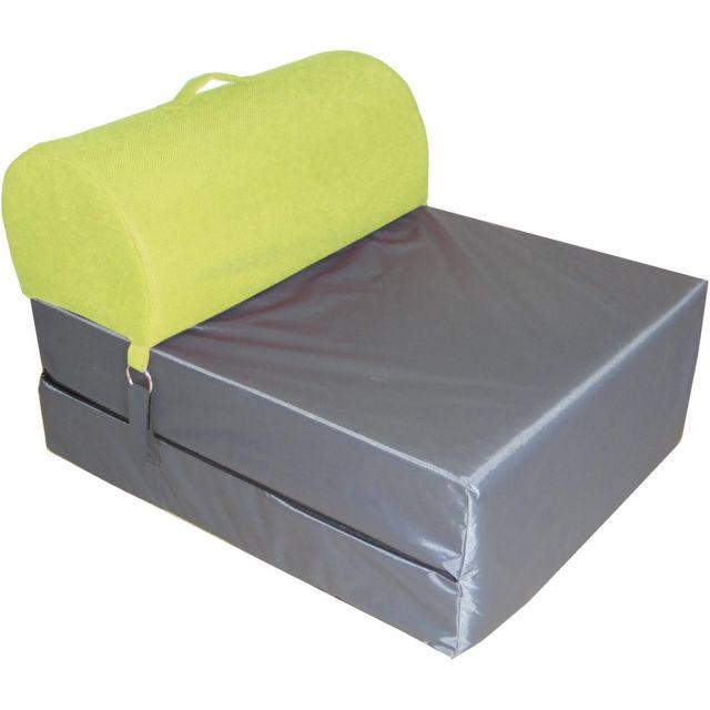 Chauffeuse en tissu têtière colorée Mesh