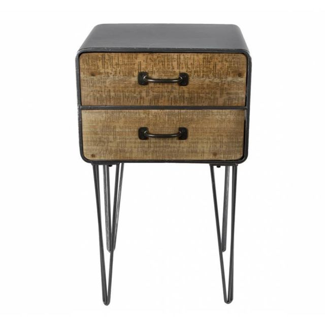 L h ritier du temps table de chevet meuble d 39 appoint de Table de nuit originale pas cher