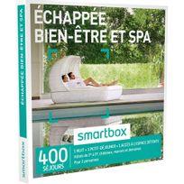 Smartbox - Échappée bien-être et spa - 400 séjours partout en France ou en Europe : hôtels de 3 à 5 , châteaux et demeures anciennes - Coffret Cadeau