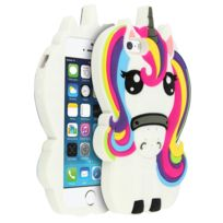 Mocca Design - Coque Licorne iPhone 5 / 5S /SE Protection silicone gel
