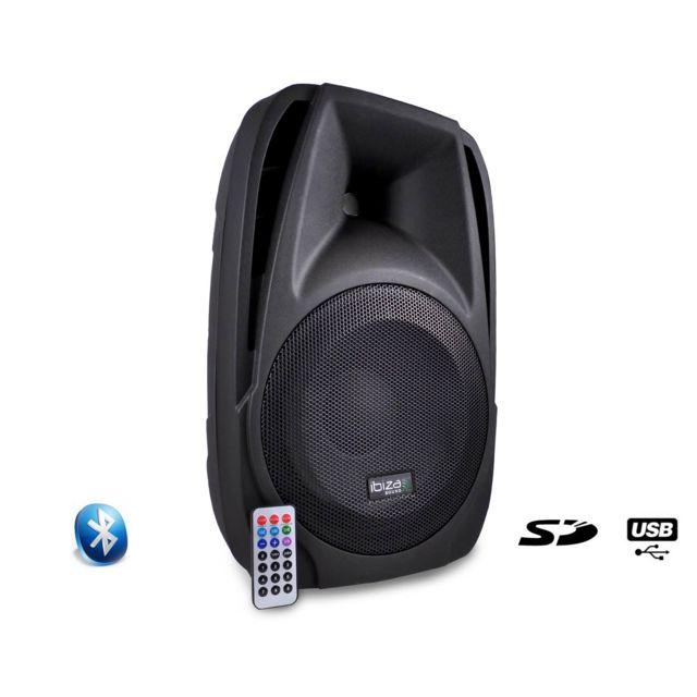 Ibiza Enceinte amplifiée 250W 10
