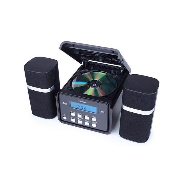 Totalcadeau Chaine hifi et radio Cd - Lecteur Cd, Usb, Radio Fm, Entrée Audio