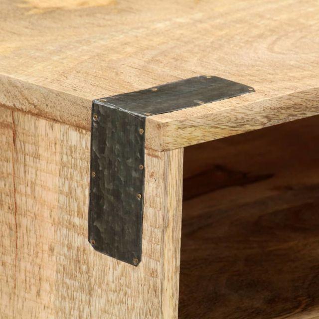 Icaverne - Tables d'appoint selection Table console 115x30x76 cm Bois de manguier massif brut