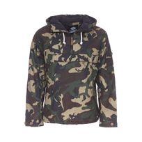 Dickies - Veste à capuche Milford à motif camouflage vert et kaki