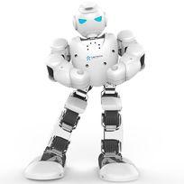 PNJ - Robot connecté Alpha Pro - Blanc