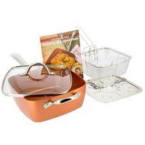 M6 Boutique - Poêle anti-adhésive Copper Chef - Produit original vu à la Tv