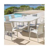 Table de jardin octogonale achat table de jardin - Salon de jardin hesperide rue du commerce ...