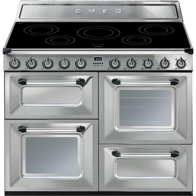 détaillant en ligne 4fbff d87cf Victoria Tr4110IX Cuisinière avec un four double et un gril - Électrique -  110 cm - 61 L - Inox