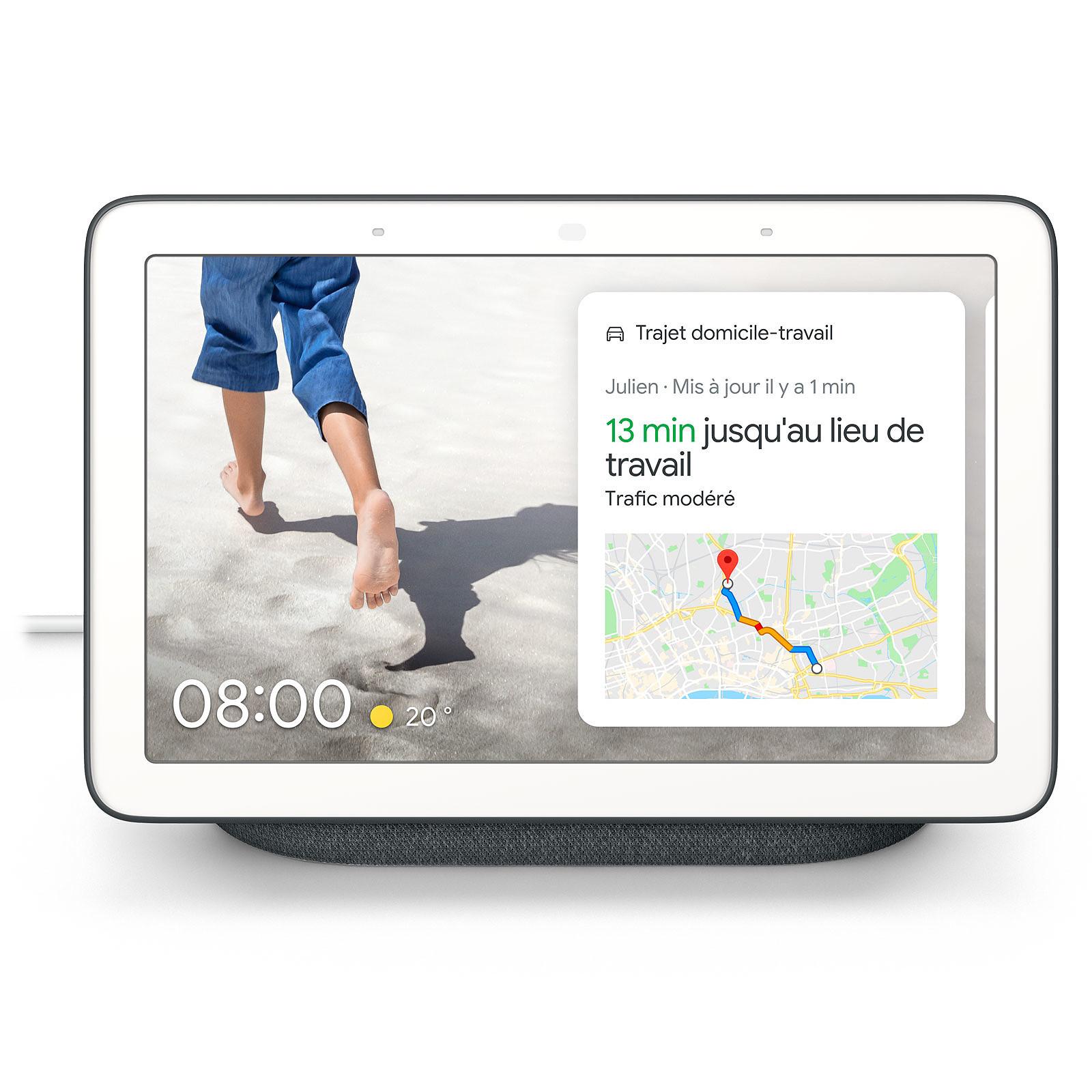 Enceinte connectée Nest Hub Google Charbon