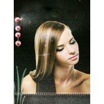 Remy Hair Excellence - Bijoux pour Cheveux - strass en cristal rose