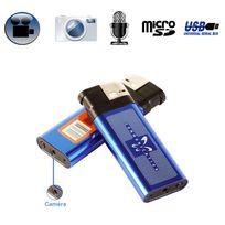 Yonis - Briquet camera espion appareil photo enregistrement sonore Usb