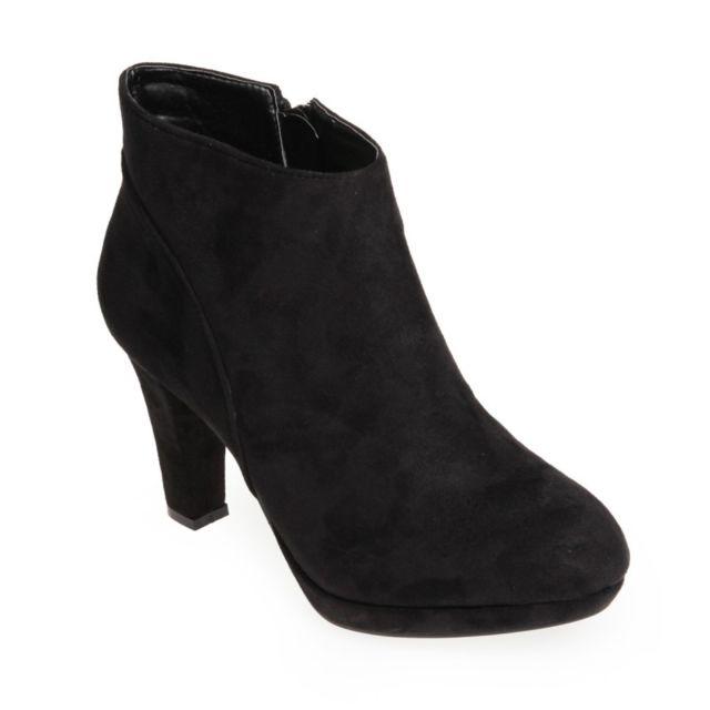 Lamodeuse Low boots Hype noir