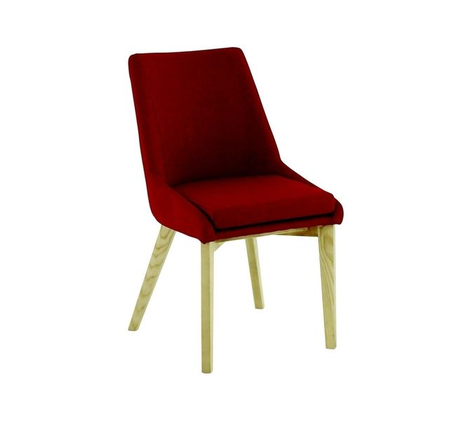 Lebrun Chaise rouge frene Enzo